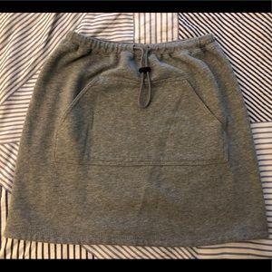 Gap Knit Drawtsring Pocket Fleece Skirt NWOT